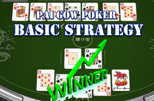 basic strategy poker